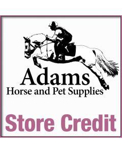Adams Store Credit