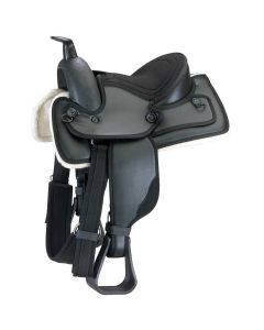 Kincade Redi-Ride Youth Western Saddle 10-inch