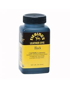 Black Leather Dye 4oz