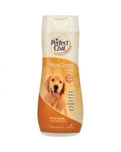 Perfect Coat Natural Oatmeal Shampoo 16 oz