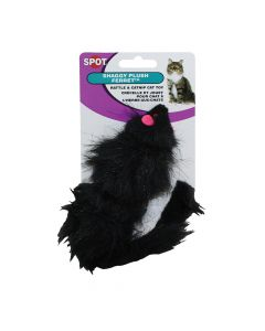 Noisy Fur Ferret Cat Toy