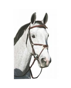 HDR Pro Mono Crown Figure 8 Bridle with Reins