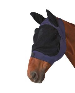 Roma Stretch Eye Saver Fly Mask with Ears