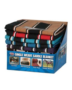 Weaver Single Weave Saddle Blanket