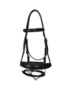 Vespucci Traditional Snaffle Dressage Bridle