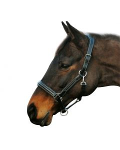 HDR Stress Free Fancy Stitched Leather Halter