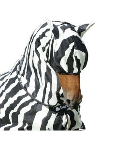 Bucas Buzz Off Zebra Stripe Fly Mask