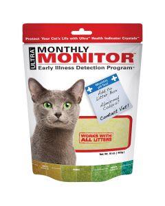 Ultra Monthly Monitor Illness Detector for Cats