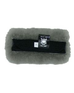 EA Mattes Sheepskin Curb Chain Cover