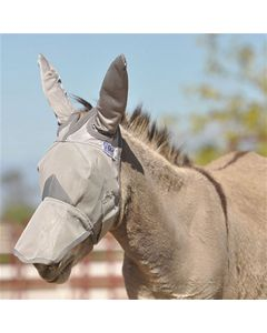 Cashel Crusader Long Nose Fly Mask with Mule Ears
