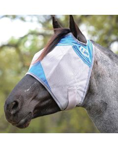 Cashel Crusader Standard Blue Fly Mask