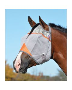 Cashel Crusader Standard Orange Fly Mask