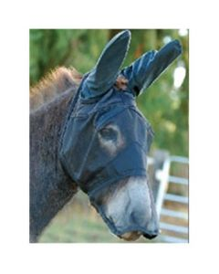 Cashel Quiet Ride Long Nose Mask with Mule Ears