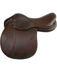 M. Toulouse Annice Chocolate Double Leather Saddle