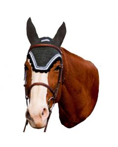 Tuff Rider Contrast Fly Bonnet with Silver Lurex