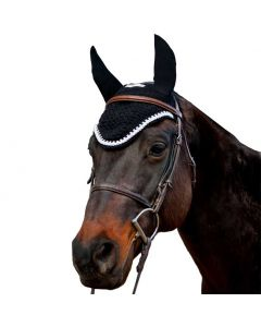 Tuff Rider Fly Bonnet with Silver Rope and Crystal