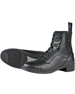 Saxon Syntovia Childrens Lace Up Paddock Boots