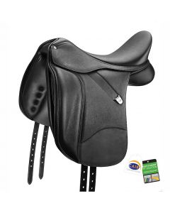 Bates Dressage+ Saddle with Luxe Leather