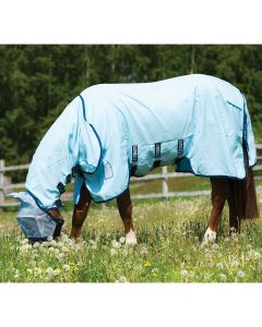 Rambo Pony Hoody Fly Sheet with No Fly Zone - Closeout