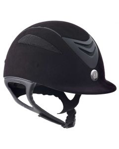 One K Defender Suede Junior Helmet