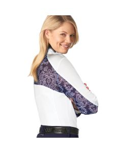 Romfh Lace Dressage Long Sleeve Show Shirt