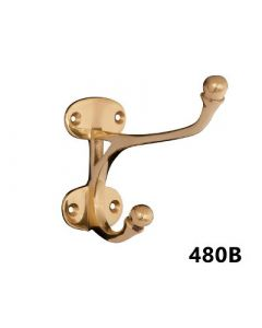 Burlingham Brass Harness Hook