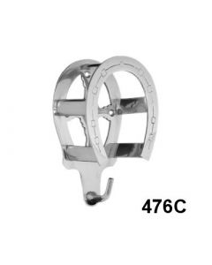 Burlingham Chrome Horseshoe Rack