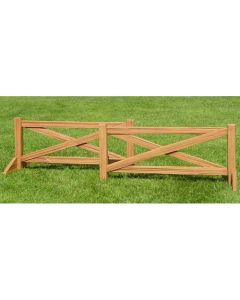 Burlingham Sports Split Rail Fence