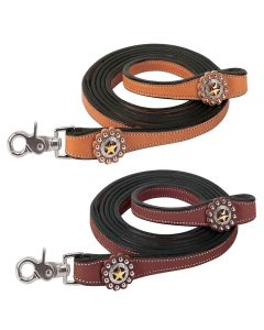Weaver Texas Star Collection Roper Reins