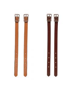 Bridle Leather Straight Fender Hobbles