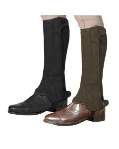 Ovation Elite Amara Suede Ribbed Half Chaps