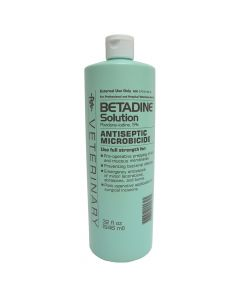 Betadine Wound Solution 32 Oz