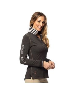 Goode Rider Long Sleeve Champion Polo