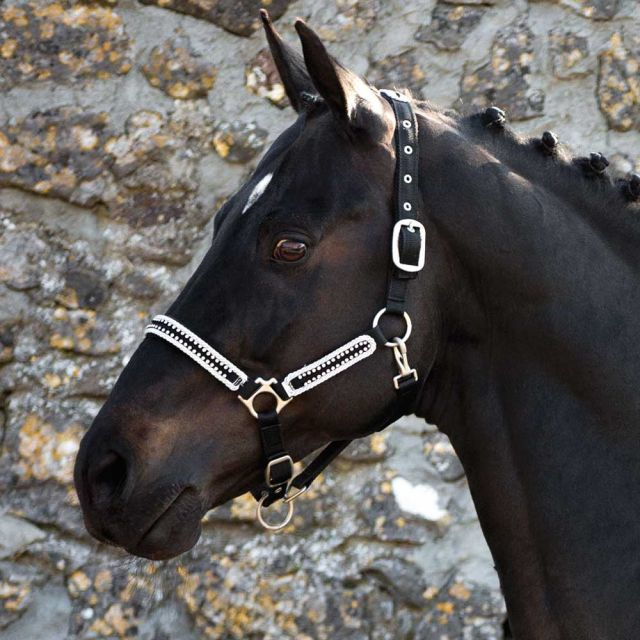 Rambo Diamante Padded Halter