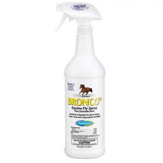 Bronco Equine Fly Spray w/Citronella 32 oz.