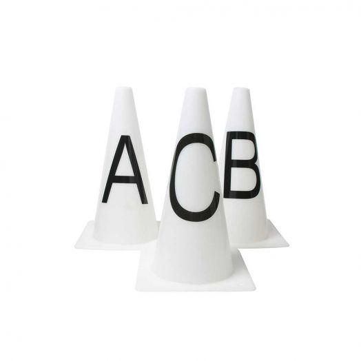 Roma Dressage Arena Marker Cones - Set of 8