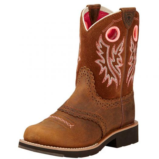 Ariat Child's Fatbaby Cowgirl Boot
