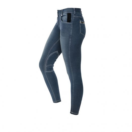 Horseware Adalie Knee Patch Summer Denim Breech