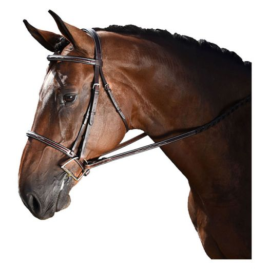 M. Toulouse Annice Hunter Bridle w/ Laced Reins