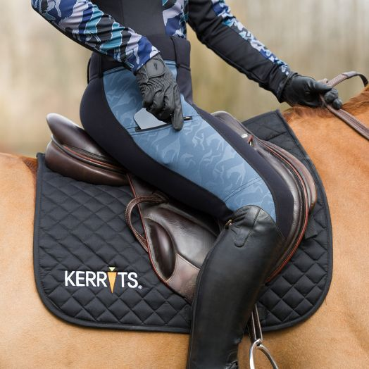 Kerrits Embossed Powerstretch Knee Patch Tight
