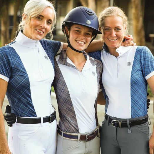 Romfh Schuyler Plaid Ladies Short Sleeve Show Shirt